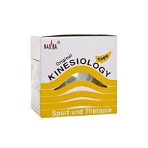 Nasara Kinesio Tape 5 cm x 5 m gelb inkl.Spenderbox
