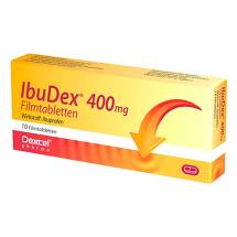 Produktbild Ibudex 400 mg Filmtabletten