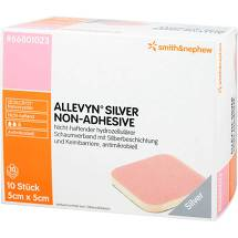 Produktbild Allevyn Silver non Adhesive 5x5 cm Verband