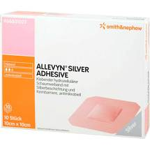 Produktbild Allevyn Silver Adhesive 10x10 cm Verband