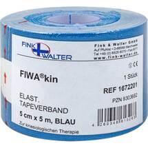 Tape elastisch 5cmx5m blau