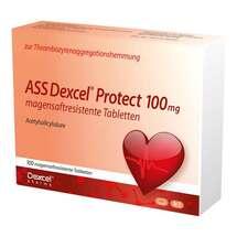 Produktbild ASS Dexcel Protect 100 mg magensaftresistent Tabletten