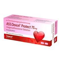 Produktbild ASS Dexcel Protect 75 mg magensaftresistent Tabletten