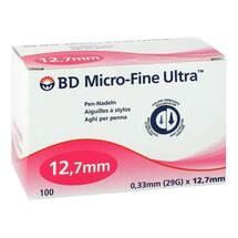 Produktbild BD Micro-Fine Ultra Pen-Nadeln 0,33x12,7 mm
