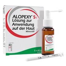 Produktbild Alopexy 5% Lösung zur Anwendung auf der Haut