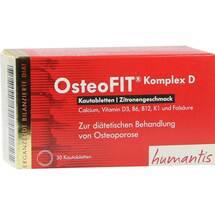 Produktbild Osteofit Komplex D Zitronengeschmack Kautabletten