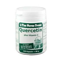Produktbild Quercetin 250 mg plus Vitamin C 300 mg Kapseln