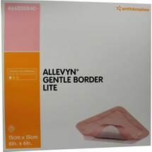 Produktbild Allevyn Gentle Border Lite 15x15 cm Schaumverband