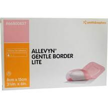 Produktbild Allevyn Gentle Border Lite 8x15 cm Schaumverband
