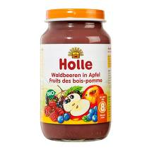 Holle Waldbeeren in Apfel