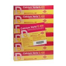 Produktbild Calcium Verla D 400 Brausetabletten
