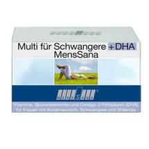Produktbild Multi Für Schwangere + DHA Menssana Kapseln