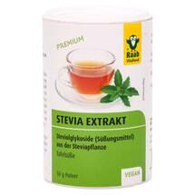 Produktbild Stevia Extrakt Raab