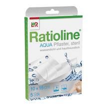 Produktbild Ratioline aqua Duschpflaster Plus 10x15 cm steril