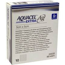 Produktbild Aquacel Ag Extra 5x5 cm Kompressen
