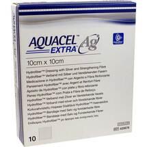 Produktbild Aquacel Ag Extra 10x10 cm Kompressen