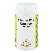 Produktbild Vitamin B12 Opti 100 Tabletten