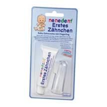 Produktbild Nenedent Baby Erstes Zähnchen Zahncreme + Fingerling
