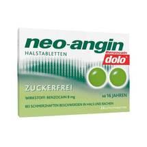 Produktbild Neo Angin Benzocain dolo Halstabletten zuckerfrei