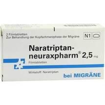 Naratriptan neuraxpharm 2,5 mg Filmtabletten