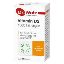 Produktbild Vitamin D2 1000 I.E. vegan Kapseln