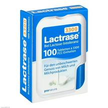 Produktbild Lactrase 3.300 FCC Tabletten im Klickspender