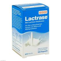 Produktbild Lactrase 6.000 FCC Kapseln