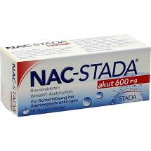 Produktbild NAC STADA akut 600 mg Brausetabletten