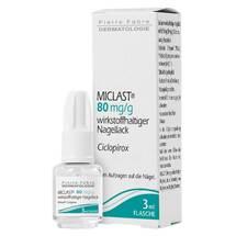 Miclast 80 mg / g wirkstoffhaltiger Nagellack