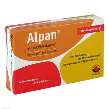 Produktbild Alpan 300 mg Weichkapseln