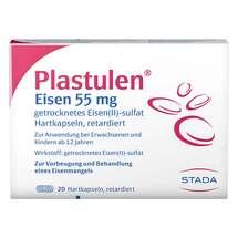 Produktbild Plastulen Eisen 55 mg Retardkapseln