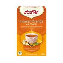 Produktbild Yogi Tea Ingwer Orange + Vanille Bio