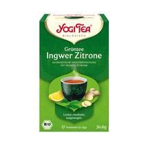 Produktbild Yogi Tea Grüntee Ingwer Zitrone Bio
