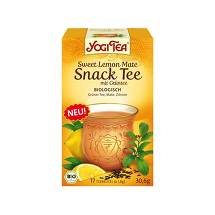 Yogi Tea Sweet Lemon Mate Snack Tee Bio