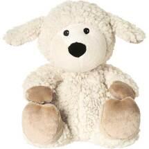 Produktbild Wärme Stofftier Schaf Wolle beige herausn. Kissen