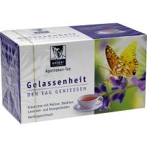 Produktbild Baders Apotheken Tee Gelassenheit Filterbeutel