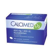 Calcimed D3 600 mg / 400 I.E. Kautabletten