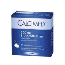 Calcimed 500 mg Brausetabletten