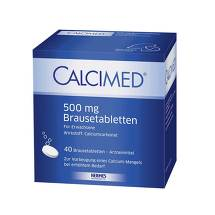 Produktbild Calcimed 500 mg Brausetabletten