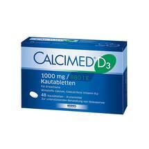 Produktbild Calcimed D3 1000 mg / 880 I.E. Kautabletten