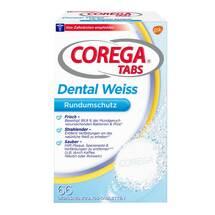 Produktbild Corega Tabs Dental weiß Tabletten für Raucher