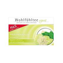 Produktbild H&S Wohlfühltee Holunderblüte-Limette Filterbeutel