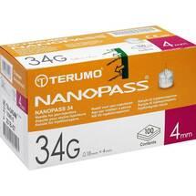 Terumo Nanopass 34 Pen Kanüle 34G 0,18x4mm