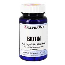 Biotin 2,5 mg GPH Kapseln