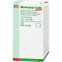 Mollelast haft latexfrei 10cmx4m gedehnt weiß