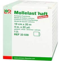 Mollelast haft latexfrei 10cmx20m gedehnt weiß