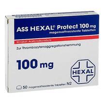 Produktbild ASS Hexal Protect 100 mg magensaftresistent Tabletten
