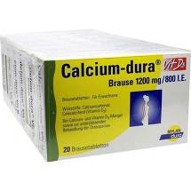 Calcium Dura Vit D3 Brause 1200 mg / 800 I.E.