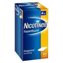 Produktbild Nicotinell Kaugummi Tropenfrucht 4 mg mit Zahnweiß-Effekt