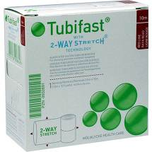 Produktbild Tubifast 2-Way-Stretch 3,5cmx10m rot Schlauchv.